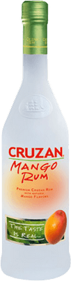 Medium cruzan mango  rum