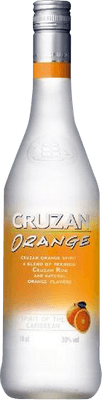 Medium cruzan orange rum