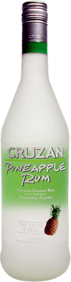 Medium cruzan pineapple rum