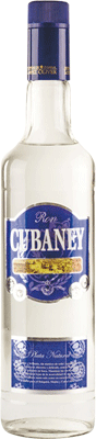 Cubaney plata 3 year rum 400px