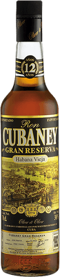 Medium cubaney 12 gran reserva rum