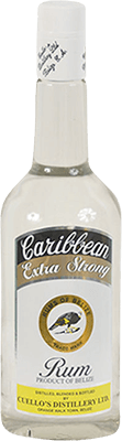 Cuello s caribbean extra strong  rum 400px