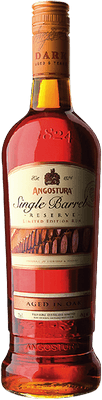 Medium angostura single barrel reserve rum