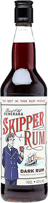 Medium demerara skipper rum