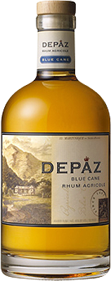 Depaz blue cane amber rum