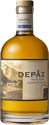 Medium depaz blue cane amber rum