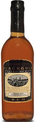 Medium sweet crude black gold single harvest blend rum rum 400px