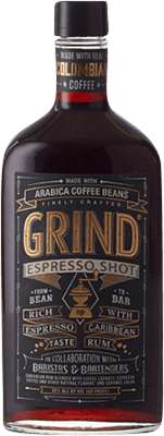 Medium grind espresso shot rum 400px