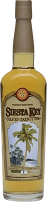 Siesta key toasted coconut rum 400px