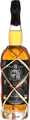 Medium plantation panama single cask sauterne oak finish 8 year rum 400px
