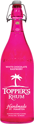 Medium topper s white chocolate raspberry rum 400px