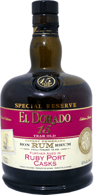 Medium el dorado 15 year special reserve ruby port cask rum 400px