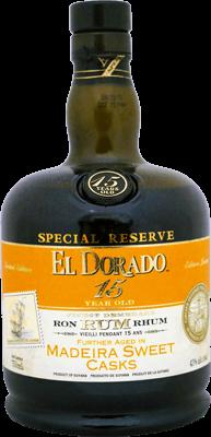 El dorado 15 year special reserve madeira sweet cask rum 400px