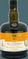 Small el dorado 15 year special reserve madeira sweet cask rum 400px