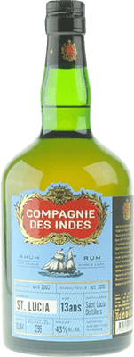 Medium compagnie des indes st. lucia 2002 13 year rum 400px