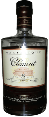 Medium clement 8 year rum 400px