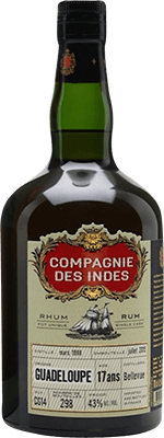 Medium compagnie des indes guadeloupe 1998 17 year rum 400px