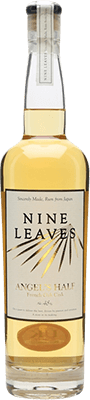 Medium nine leaves angel s half french oak rum 400px