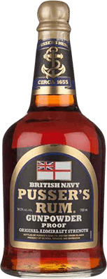 Medium pusser s gunpowder proof rum 400px