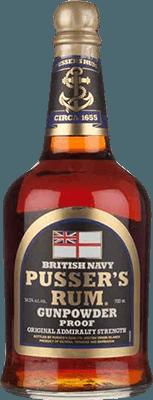 Medium pusser s gunpowder proof rum 400px