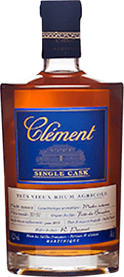 Medium clement single cask blue moka  rum 400px