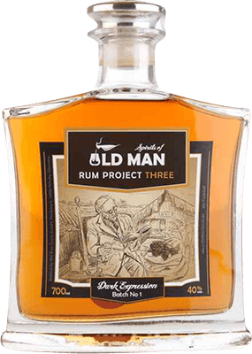 Medium old man spirits project three dark expression rum 400px