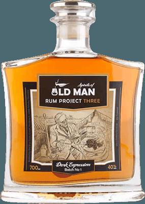 Medium old man spirits project three dark expression rum 400px