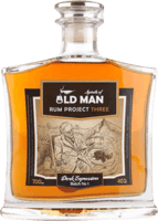 Small old man spirits project three dark expression rum 400px