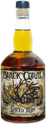 Medium black coral spiced rum 400px
