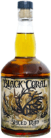 Small black coral spiced rum 400px
