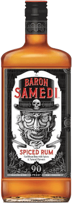 Medium baron samedi spiced rum 400px