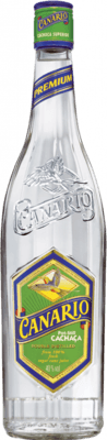 Medium canario light cachaca