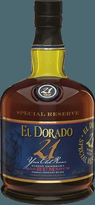 Medium el dorado 21 year rum