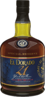 Small el dorado 21 year rum
