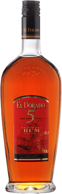 Medium el dorado 5 year rum