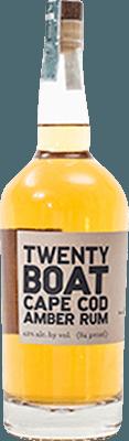 Medium twenty boat amber rum 400px