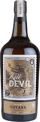 Medium kill devil  hunter laing  guyana 1997 18 year rum 400px