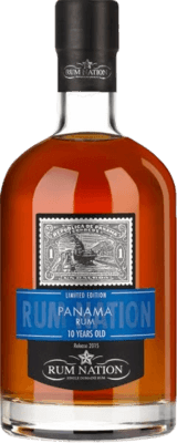 Medium rum nation panama limited edition 10 year