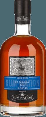 Medium rum nation panama limited edition 10 year