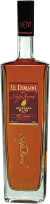 Medium el dorado single barrel rum