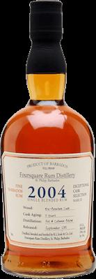 Foursquare 2004 11 year bourbon cask strength 400px