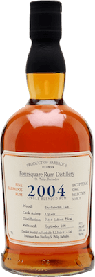 Foursquare 2004 Bourbon Cask Strength 11-Year rum