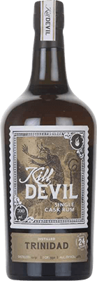Medium kill devil  hunter laing  trinidad 1991 24 year rum 400px