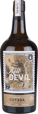Medium kill devil  hunter laing  guyana 1990 25 year rum 400px