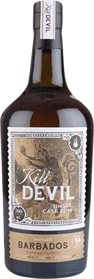 Medium kill devil  hunter laing  barbados 2001 14 year rum 400px
