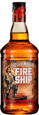 Medium captain morgan fire ship