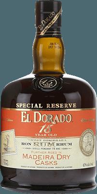 Medium el dorado 15 year special reserve madeira dry cask rum 400px