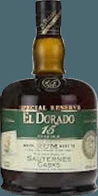 Medium el dorado 15 year special reserve sauternes cask rum 400px