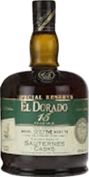 Small el dorado 15 year special reserve sauternes cask rum 400px