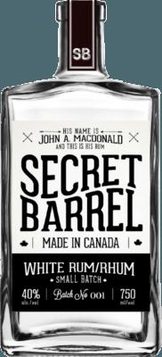 Medium secret barrel distillery white